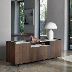 Cabaret modular sideboard with low top