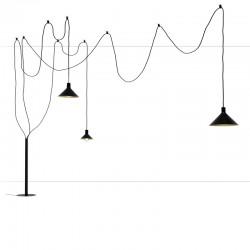 Floor lamp in metal -Cerberina