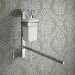 Dispenser/towel-holder -...