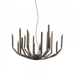 Metal suspension lamp - To Be