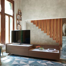 Cabaret TV cabinet with low...