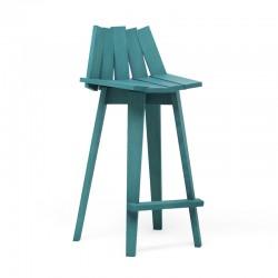 Solid ash wood stool - Frank