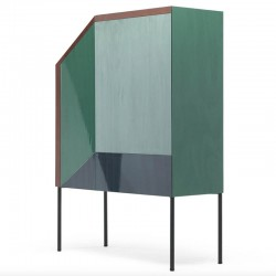 Cupboard in lacquered Mdf -...