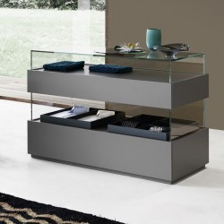 Chest of drawer with glass case - Cidori