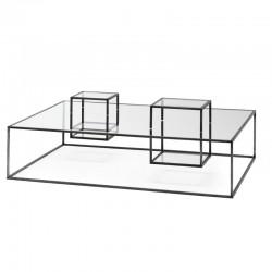 Rectangular coffe table - Illusioni