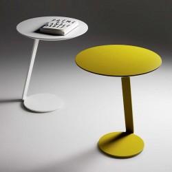 Giro lacquered metal coffee table