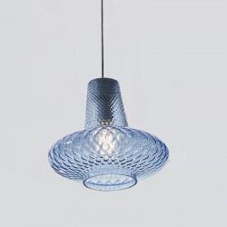 Suspension lamp in glass -...