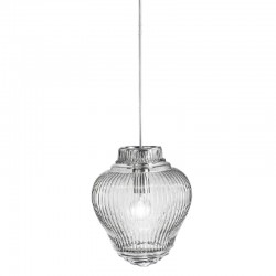 Glass suspension lamp - Clyde