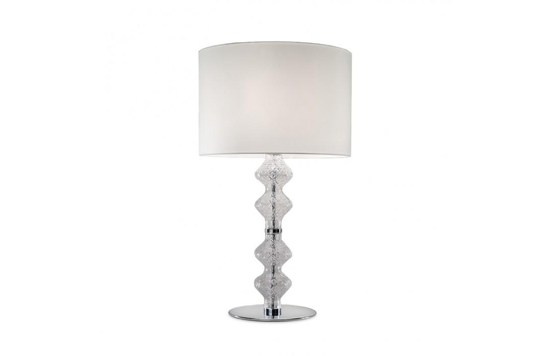 Lampada Grande Da Tavolo In Vetro Onda