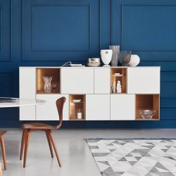 Open modular sideboard with...