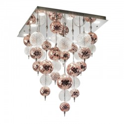 Ceiling lamp LED with glass...