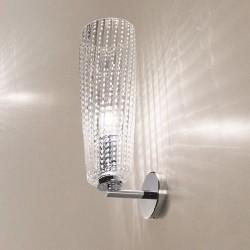 Lampada da parete in vetro soffiato - Perle