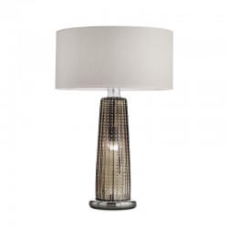 Table lamp with glass...