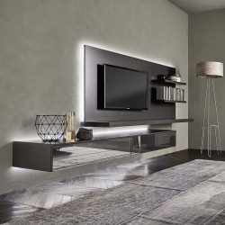 TV cabinet with led light - Lampo 7