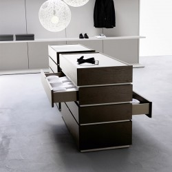 Modular double-faced chest of drawer - Cidori