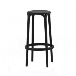 Brooklyn stool with armrests