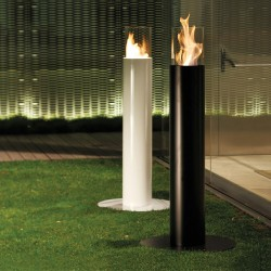 Steel bio-fireplace - Minerva