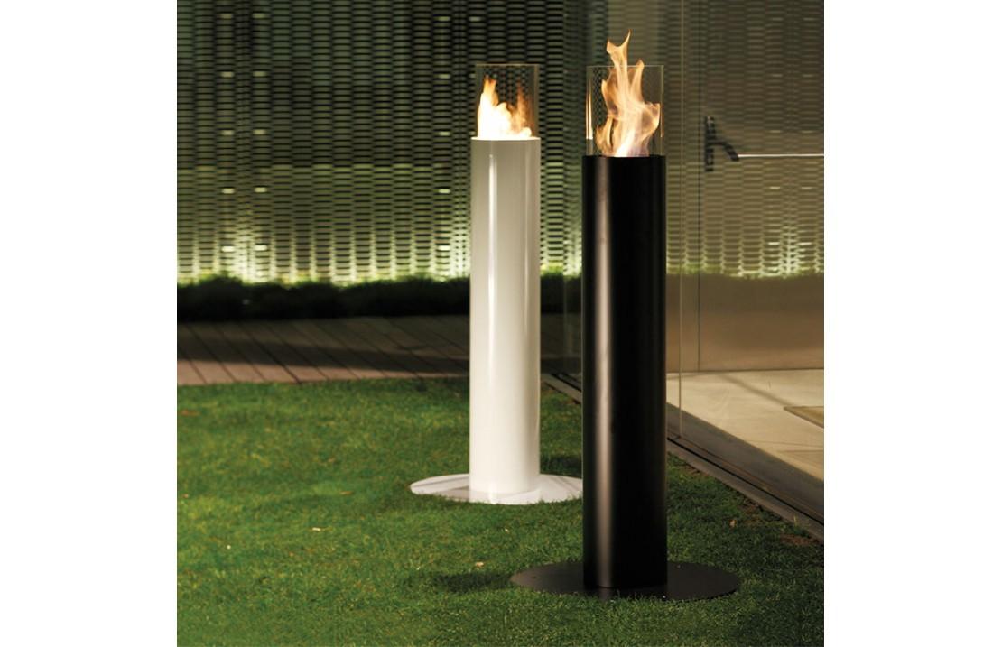 Steel bio-fireplace - Minerva