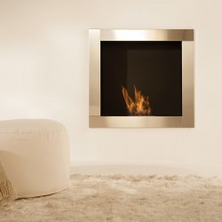 Built-in bio-fireplace in...
