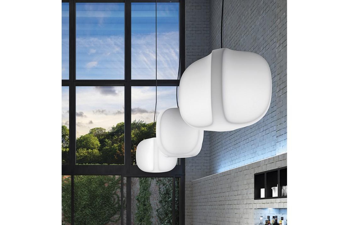 Four indoor/outdoor suspended lamp