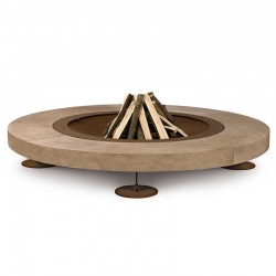Rondo burning fire pit in...