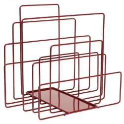 Magazine rack in metal - Random