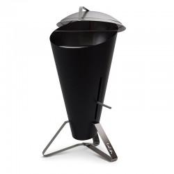 Cone barbecue in acciaio inox