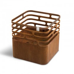 Cube barbecue/brazier/stool...