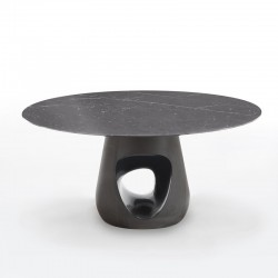 Round table with marble top - Barbara