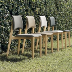 Chair eco-leather and...