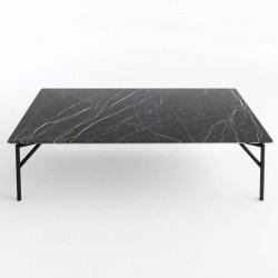 Tavolino in marmo e metallo - Tout Le Jour
