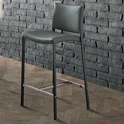 Eco-leather stool - Zara