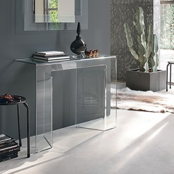 Glass console - Sagitta