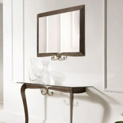 Specchio in ferro battuto -...