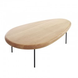 Lily coffee table in solid wood