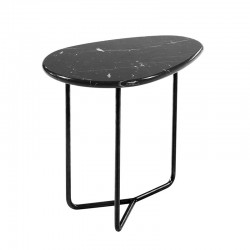 Side table in marble or wood - Lily