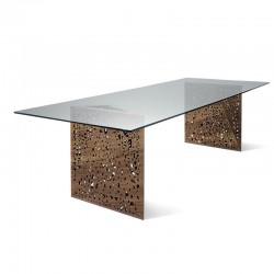 Tavolo riunione  in legno e...
