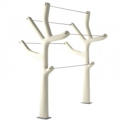 Clothes horse for outdoor or indoor - Alberto