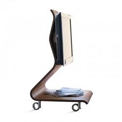 Porta TV in legno curvato - Cobra