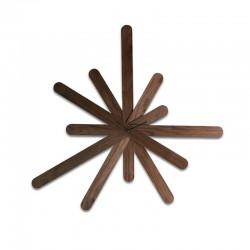 Orologio in legno massello Woodclock