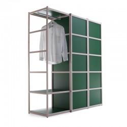Solaio solid wood wardrobe