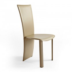 Vento chair upholstered leather