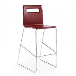 Leather stool - Nuvola