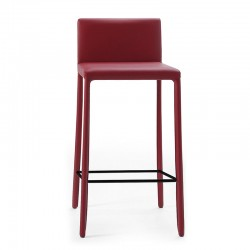 Fixed leather stool - Nunes