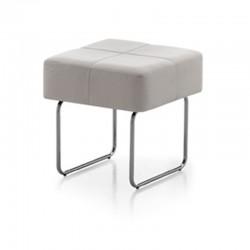 Pouf/tavolino in eco-pelle - Square