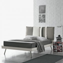 Darwin padded semi-double bed bed with or without storage