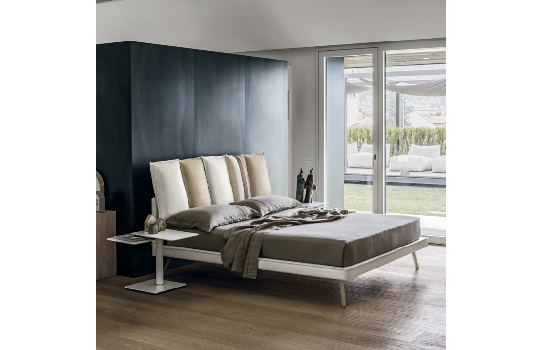 Darwin padded double bed bed with or without storage