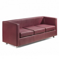 Quadra sofa 3 seat in...