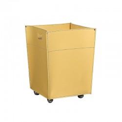 Storage box / log holder with wheels - Eva