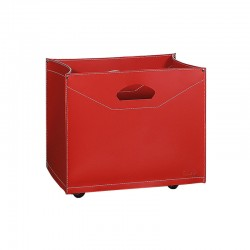 Storage box / log holder with wheels -Frida